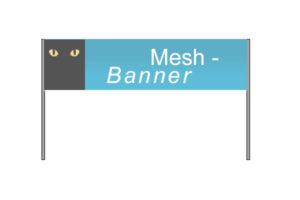 luftdurchlässige Mesh Banner drucken lassen - ABXXLDruck - Druckerei Aschaffenburg